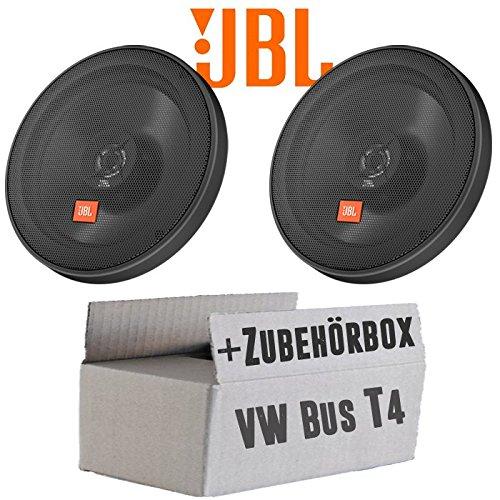 JBL STAGE2 624   2-Wege   16cm Koax Lautsprecher - Einbauset für VW Bus T4 Front - JUST SOUND best choice for caraudio