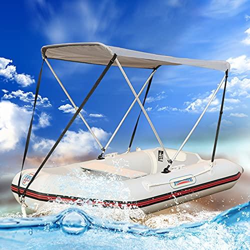 RYUNQ Tenda per tendalino Gonfiabile per Kayak, Copertura superiore Bimini con protezione UV, Barche...