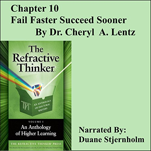 Fail Faster, Succeed Sooner audiobook cover art