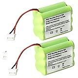FUZADEL 2 Pack 2000mAh 7.2V NiMh Battery for Mint 4200 4205 Floor Cleaner...