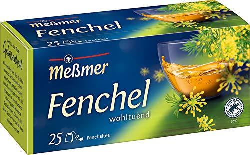 Meßmer Fenchel   25 Teebeutel   Vegan   Glutenfrei   Laktosefrei