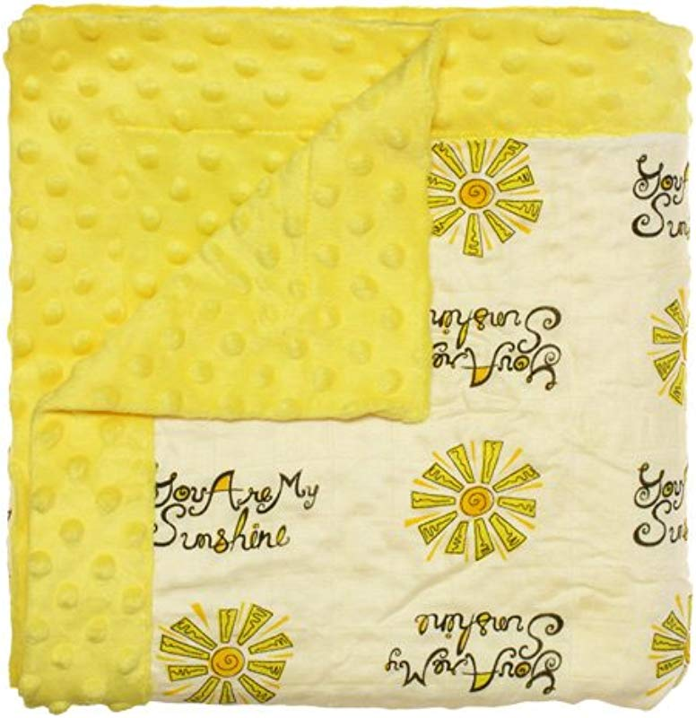Nicki S Diapers Bamboo Cuddle Blanket You Are My Sunshine 48 X48