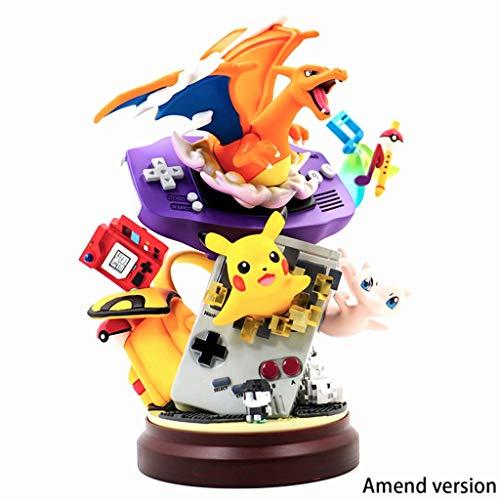 Lilongjiao Pokémon: Pokémon Game Console Nendoroid Figura De Acción PVC Figura Modelo Juguetes