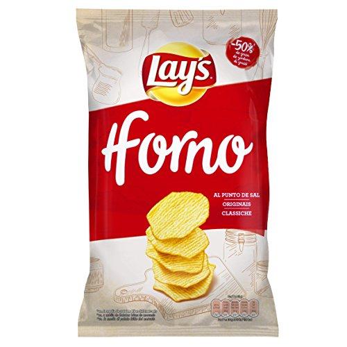 Lay's - Al Horno - Patata Horneada con Sal - 130 g