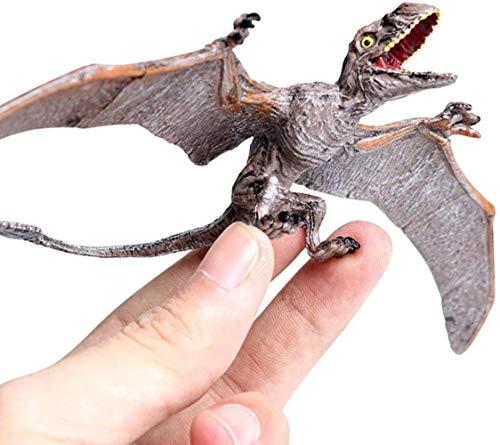 TXXM Dinosaurio juguete niños dinosaurio juguete modelo dinosaurio mundo pastel decoración estática criatura estatuilla niños Navidad