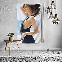 タペストリー しらいし まい (3) タペストリー 、装飾布 壁飾り リビングルーム ベッドルーム 部屋 個性ギフト 和室 玄関 窓 店 、室内装飾 多機能 寝室 カーテン おしゃれ 個性60x40inch/150x100cm