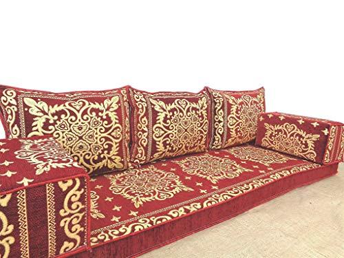 arabic floor seating,arabic sofa,arabic couch,floor seating sofa,oriental seating,bar decor,arabic furniture - MA 86