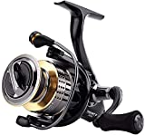 NYCUABT Carrete de Pesca Reel Spinning Reel 13kg MAX Drag Power Bass Fishing Fishines Treast II 5.0: 1/6.2: 1 1000H 2000H 3000H 4000H (Size : Treant II 4000H)