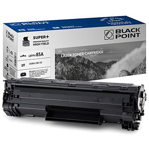 Black Point toner-mero - Tóner compatible con CE285A (HP 85A) para HP Laserjet Pro: P1102, P1102W, M1132, M1212NF, M1217NFW, color negro