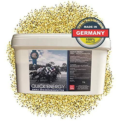 EMMA® Quick Energie, paardenvoer Booster Energy I Mineraalvoer Sport Pferde I voor spieren, prestatiepaarden doping vrij 5 Kg