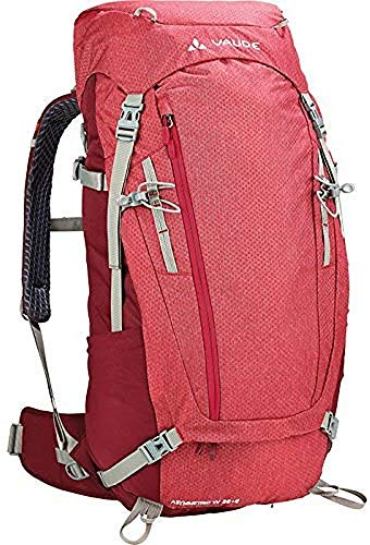 VAUDE Asymmetric 38+8 Mochila, Mujer, Indian Red