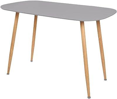 Zons Stockholm Table Salle À Manger L120xl70xH75cm Gris