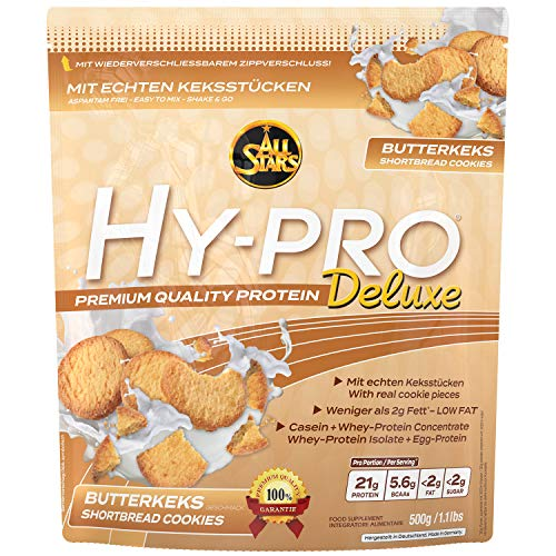 All Stars Hy-Pro Deluxe, Butterkeks, 1er Pack (1 x 500 g)