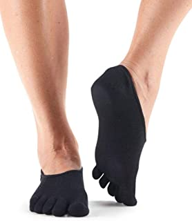 "ToeSox Womenโ€™s Casual Dash Socks โ€"" No-Show Toe Socks"