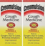 Creomulsion Cough Medicine 4 Oz (Pack of 2)