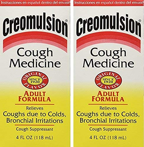 Creomulsion Cough Medicine 4 Oz (Pack of 2)