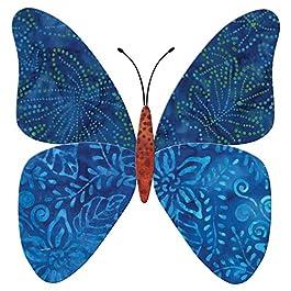 AccuQuilt 55467 Butterfly By Edyta Sitar Go! Fabric Cutting Dies, 8″ by 7.5″