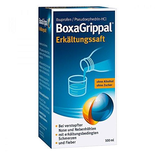 BoxaGrippal Erkältungssaft, 100 ml Saft