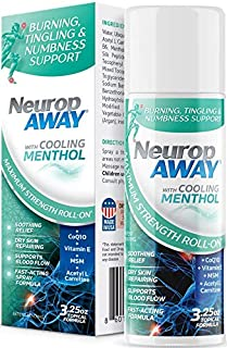 Sponsored Ad - VasoCorp NeuropAWAY Neurop Pain Relief Roll-On 3.25 oz Nerve Pain Relief and neurop Pain Relief for feet, n...