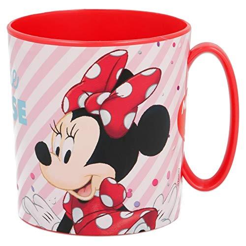 2666; Tasse à micro-ondes Disney Minnie Mouse; Capacité de 350 ml; produit en plastique; Pas de BPA