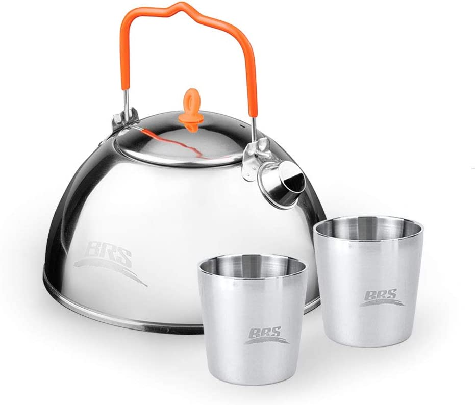 HuaYe BRS mart Camping Stainless Out Double-Layer Max 86% OFF Anti-scalding Steel
