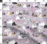 Berg, Lila, Lavendel, Mauve, Wald Stoffe - Individuell