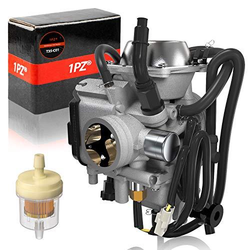 1PZ T35-C01 Carburetor with Fuel Filter for Honda ATV Rancher TRX350 TRX400 TRX450 1998 1999 2000 2001 2002 2003 2004 2005 2006 2007 2008