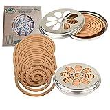 Esschert Design 2 x 10 Citronella Rauchspiralen mit Halter...