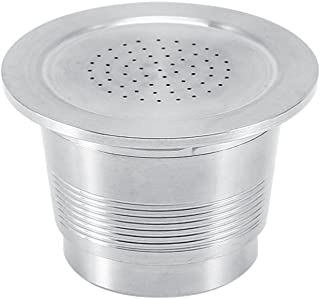 Reusable Nespresso Pods Stainless Steel Refillable Capsules for Nespresso Machines+ Free Spoon