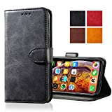 Zdream Apple iPhone XS MAX Leather Case,Leather Wallet Case