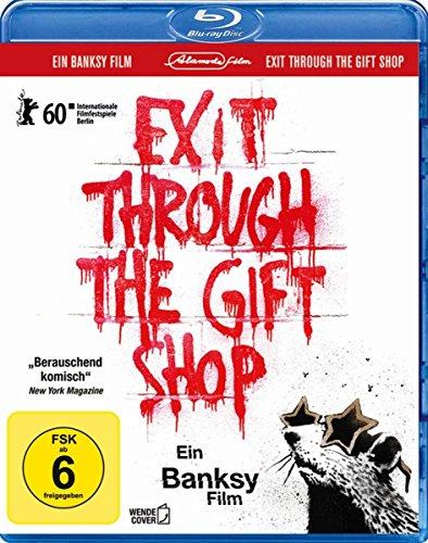 Banksy - Exit through the Gift Shop [Blu-ray] (inkl. Wendecover und deutscher Fassung)