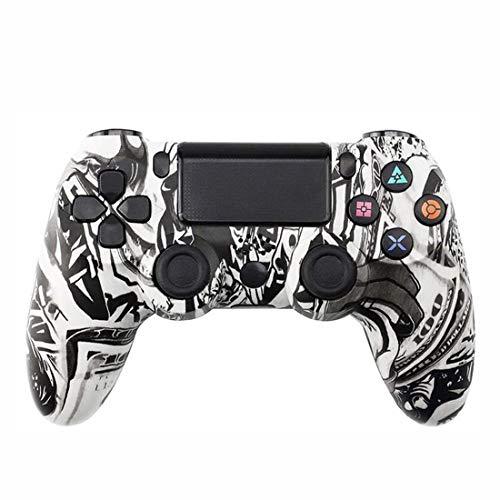 EtexFan Controller für PS4, Wireless Controller für Playstation 4/PS4 Pro/PS4 Slim mit Touchpanel Gamepad Bluetooth Game Controller Joypad Joystick - Monster
