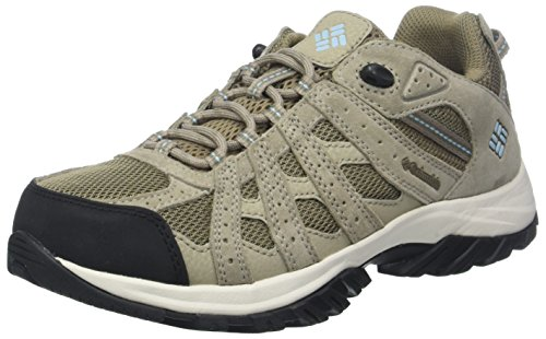 Columbia Canyon Point Waterproof, Zapatillas de Senderismo, Impermeable para Mujer, Beige...