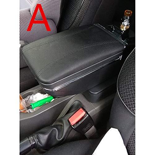LILIGUAN Auto Armlehnebox, Für Hyundai ix20, Armlehnenbox mit zentralem Getränkehalter Aschenbecher Innendekoration Auto Styling Zubehör