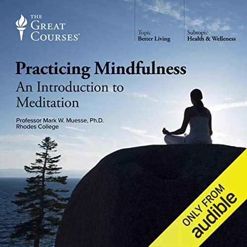 Practicing Mindfulness: An Introduction to Meditation                   By:                                                                                                                                 Mark W. Muesse,                                                                                        The Great Courses                               Narrated by:                                                                                                                                 Mark W. Muesse                      Length: 12 hrs and 29 mins     3,750 ratings     Overall 4.4
