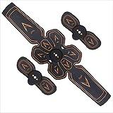 MJ-Sports Cinturón eléctrico para Hombres: Entrenador de músculos Efectivo, Entrenador de Ejercicios portátil para Abdomen, Brazo y Pierna