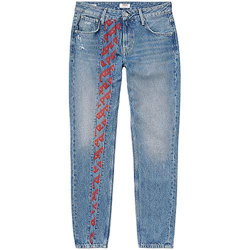Pepe Jeans für Damen, Farben: blau/violett, Straight Leg, Blau 28
