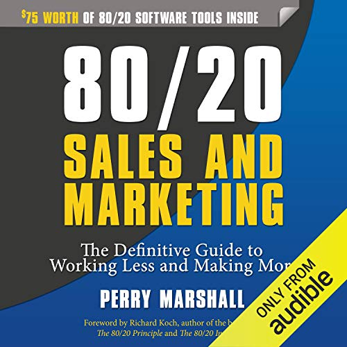 80/20 Sales and Marketing cover art