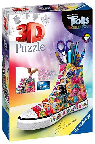 Ravensburger 11231 Trolls 2 World Tour Trainer 108-teiliges 3D-Puzzle für Kinder ab 8 Jahren EIN idealer Schreibtisch-Organizer oder Stifteköcher