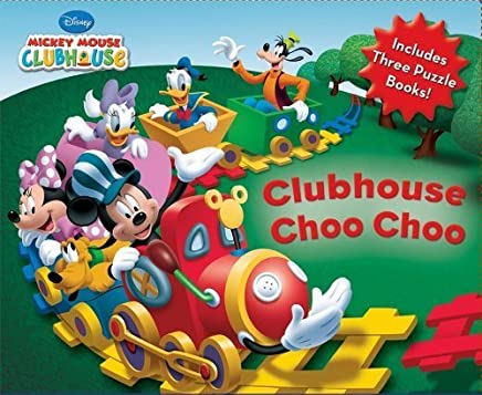 Clubhouse Choo Choo (Mickey Mouse Clubhouse) by Disney Book Group (2009-09-15)