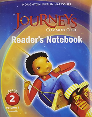 Houghton Mifflin Harcourt Journeys: Common Core Reader's Notebook Consumable Collection, Grade 2