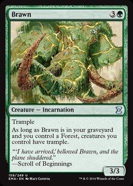 Magic The Gathering - Brawn (159/249) - Eternal Masters