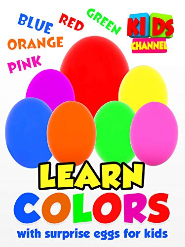 Learn Colors with Surprise Eggs for Kids