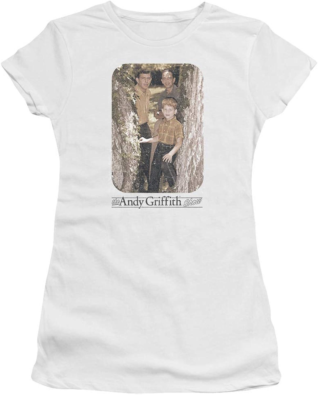 Andy Griffith  Juniors Tree Photo Premium Bella TShirt