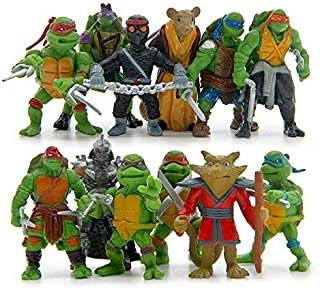 The model of ninja turtle Twelve figure as a set