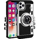 Cekell Estuche para teléfono Emily In Paris Estuche para cámara vintage Estuche retro lindo en 3D compatible con iPhone 11 de 6.1 pulgadas