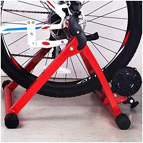 suge Bicycle Riding Exercise Machine Magnetic Bike Trainer Stand - Bike Magnetic Turbo Trainer - Variable Resistance Bike Trainer Exercise Fitness Stationary Frame for 24-28 Inch Wheel