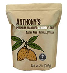 Made from 100% California Natural Almonds Delicious In Taste, Perfect for Almond Flour Recipes Batch Tested and Verified Gluten-Free No Preservatives or Artificial Ingredients - Steam Pasteurized California Almonds Plant Based Protein Gluten Free Flo...