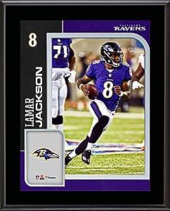 "Lamar Jackson Baltimore Ravens 10.5"" x 13"" Sublimated Player Plaque - NFL Player Plaques and Collages"