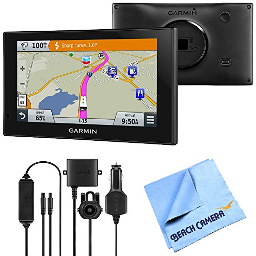 Beach Camera Garmin 010-01535-00 RV 660LMT Automotive GPS Wireless Backup Camera Bundle Includes Garmin RV 660LMT GPS, BC 30 Wireless Backup Camera Microfiber Cloth